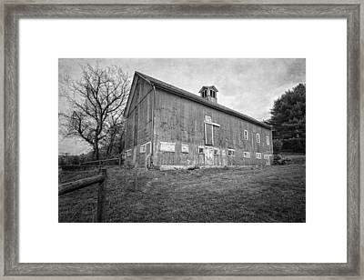 Smyrski Farm Bw Framed Print by Bill Wakeley