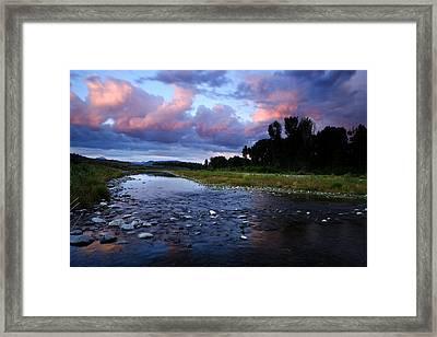 Snake River Framed Print by Eric Foltz