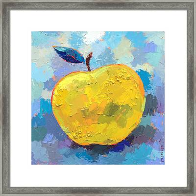 Snappy Happy B Framed Print by Penelope Moore