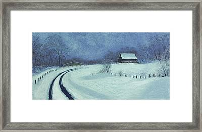 Snow Bound Framed Print by Garry McMichael
