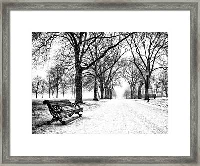 Snow Day Framed Print by Dominic Piperata