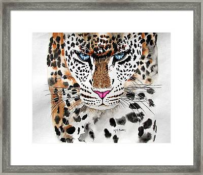 Snow Queen Framed Print by Maria Barry