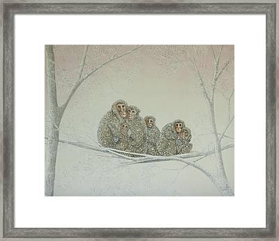 Snowed Under Framed Print by Pat Scott