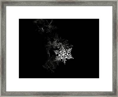 Snowflake Framed Print by Mark Watson (kalimistuk)