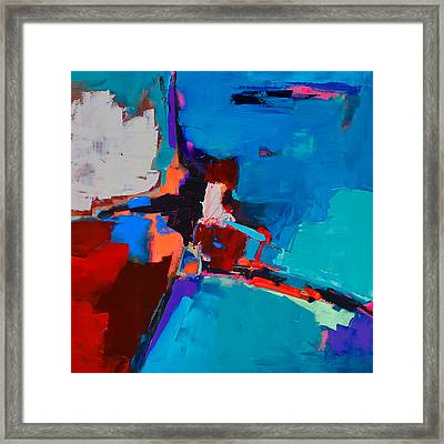 So Far - Art By Elise Palmigiani Framed Print by Elise Palmigiani