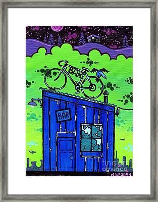Soc. Ept. 1 Framed Print by Dan Keough