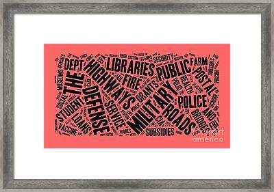 Socialism Framed Print by Edward Fielding