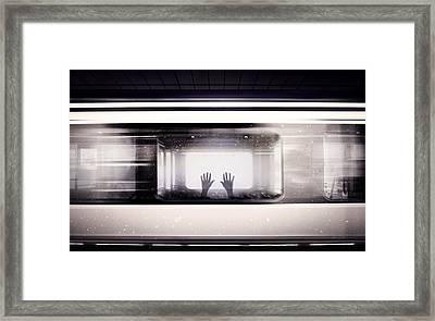 Society Framed Print by Jacky Gerritsen