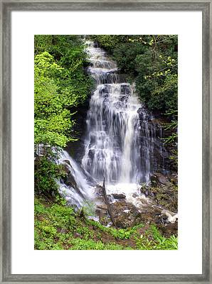 Soco Falls 1 Framed Print by Marty Koch