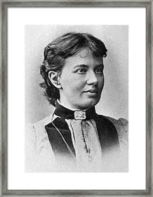 Sofia Kovalevskaya, Russian Mathematician Framed Print by Ria Novosti