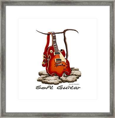Soft Guitar - 3 Framed Print by Mike McGlothlen