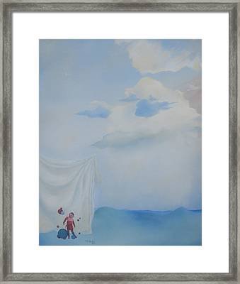 Soft Light Framed Print by Richard    J Thorpe
