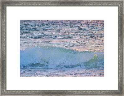 Soft Oceans Breeze  Framed Print by E Luiza Picciano