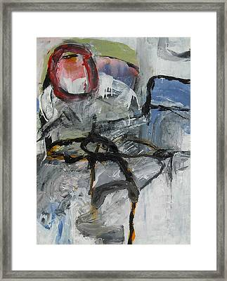 Soft Ruin Framed Print by Alan Taylor Jeffries