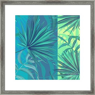 Soft Tropic  Framed Print by Mark Ashkenazi