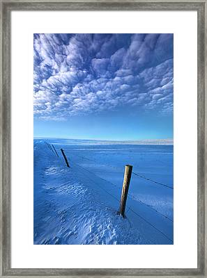 Softer Than A Lullaby Framed Print by Phil Koch