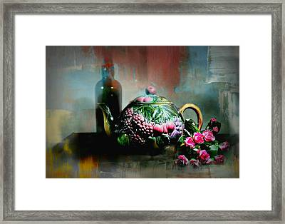 Softly Silent Framed Print by Diana Angstadt