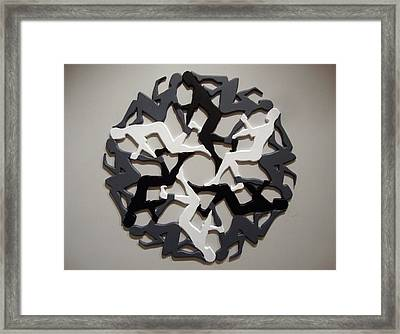 Sol 6 Framed Print by Matthew Ridgway