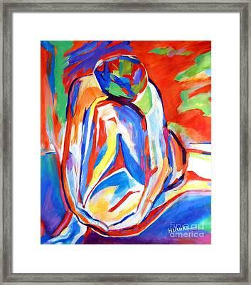 Solace Framed Print by Helena Wierzbicki