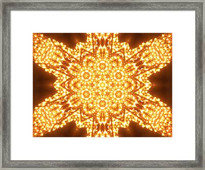 Solar Telepathy Framed Print by Filip Klein