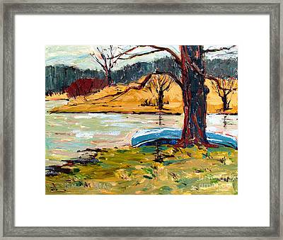 Sold Donnie Myers Pond Framed Print by Charlie Spear