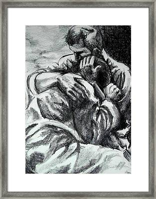 Soldier  Framed Print by Dannielle  Murphy