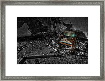 Sole Survivor Framed Print by Evelina Kremsdorf