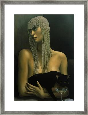 Solitare Framed Print by Jane Whiting Chrzanoska