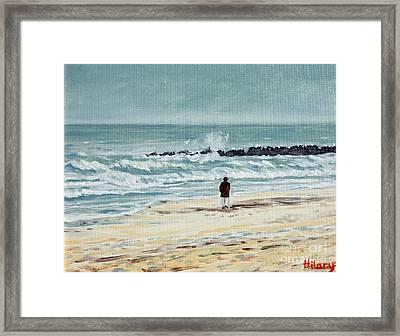 Solitude Framed Print by Hilary England