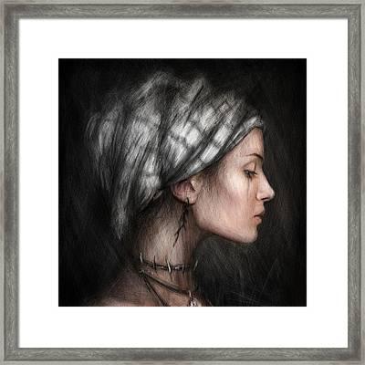 Solitude  Framed Print by Justin Gedak