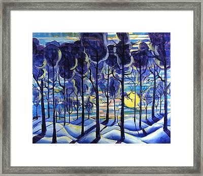 Solitude Framed Print by Rollin Kocsis