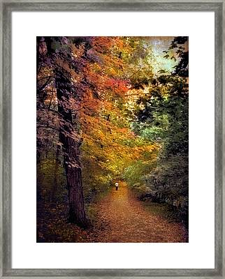 Solo Promenade Framed Print by Jessica Jenney