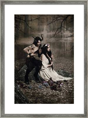 Solstice Framed Print by Cambion Art