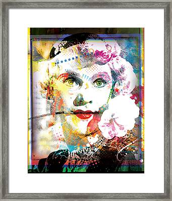 Some Like It Hot Portrait Framed Print by Gary Grayson