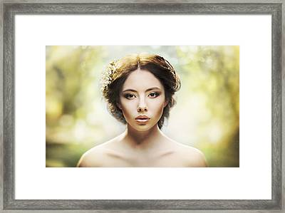 Some Spring For Everyone Framed Print by Batoev Anton