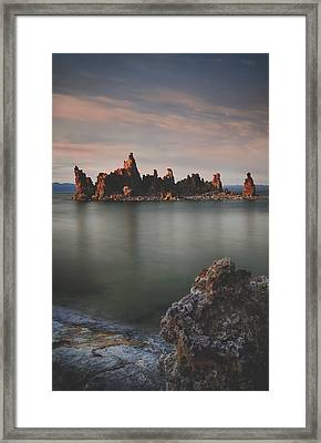 Someday I'll Be Fine Framed Print by Laurie Search