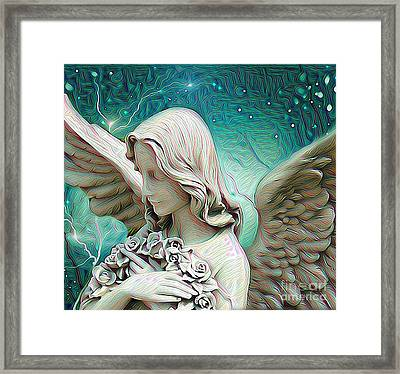 Someone To Watch Over Me  Framed Print by Snook R