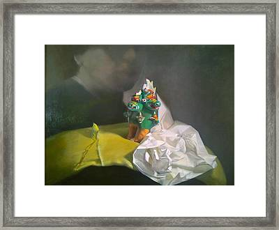 Sometimes I Can't Belive You Are Gone Framed Print by Weiyu Xia