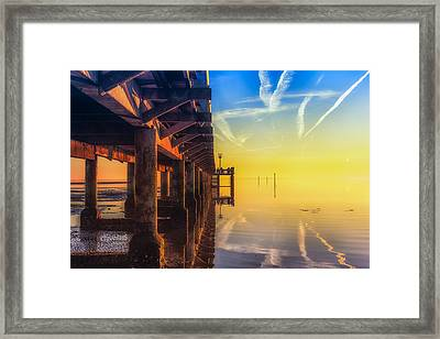 Framed Print featuring the photograph Somewhere Else by Thierry Bouriat