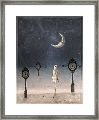 Somewhere In Time Framed Print by Juli Scalzi