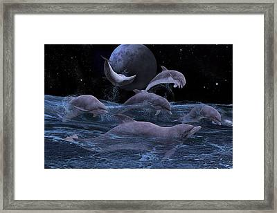 Somewhere Out There  Framed Print by Betsy C Knapp