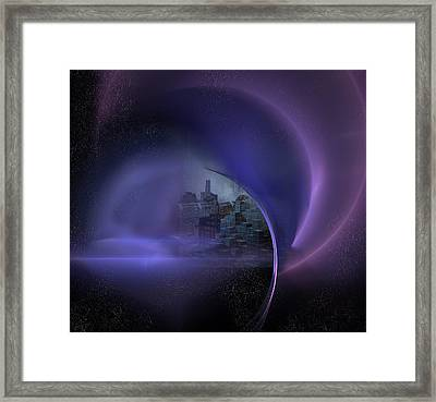Somewhere Out There Framed Print by Carol and Mike Werner