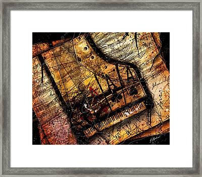 Sonata In Ace Minor Framed Print by Gary Bodnar