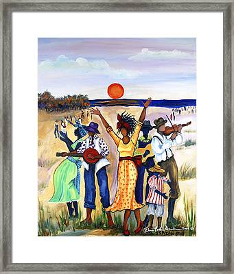 Songs Of Zion Framed Print by Diane Britton Dunham