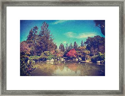 Soothes The Soul Framed Print by Laurie Search