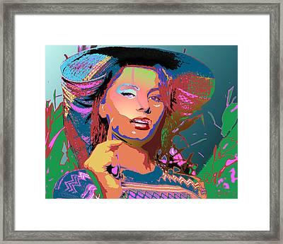 Sophia 4 Framed Print by John Keaton