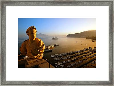 Sorrento At Dawn Framed Print by Neil Buchan-Grant