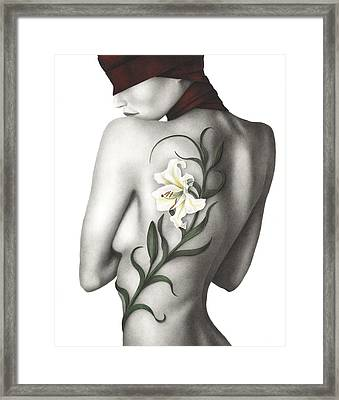 Sorrow Framed Print by Pat Erickson