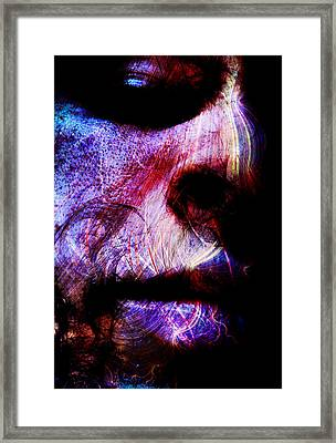 Sorrowful Eyes Framed Print by Bear Welch