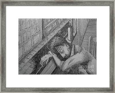 Sot Framed Print by William Dietrich